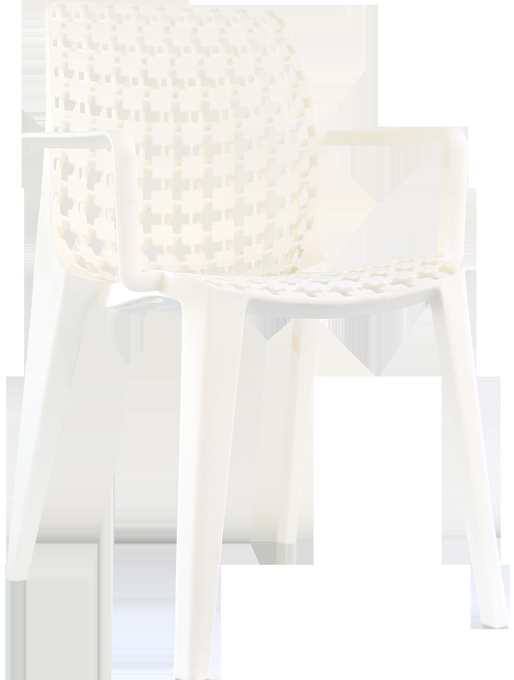 有扶手洞洞椅