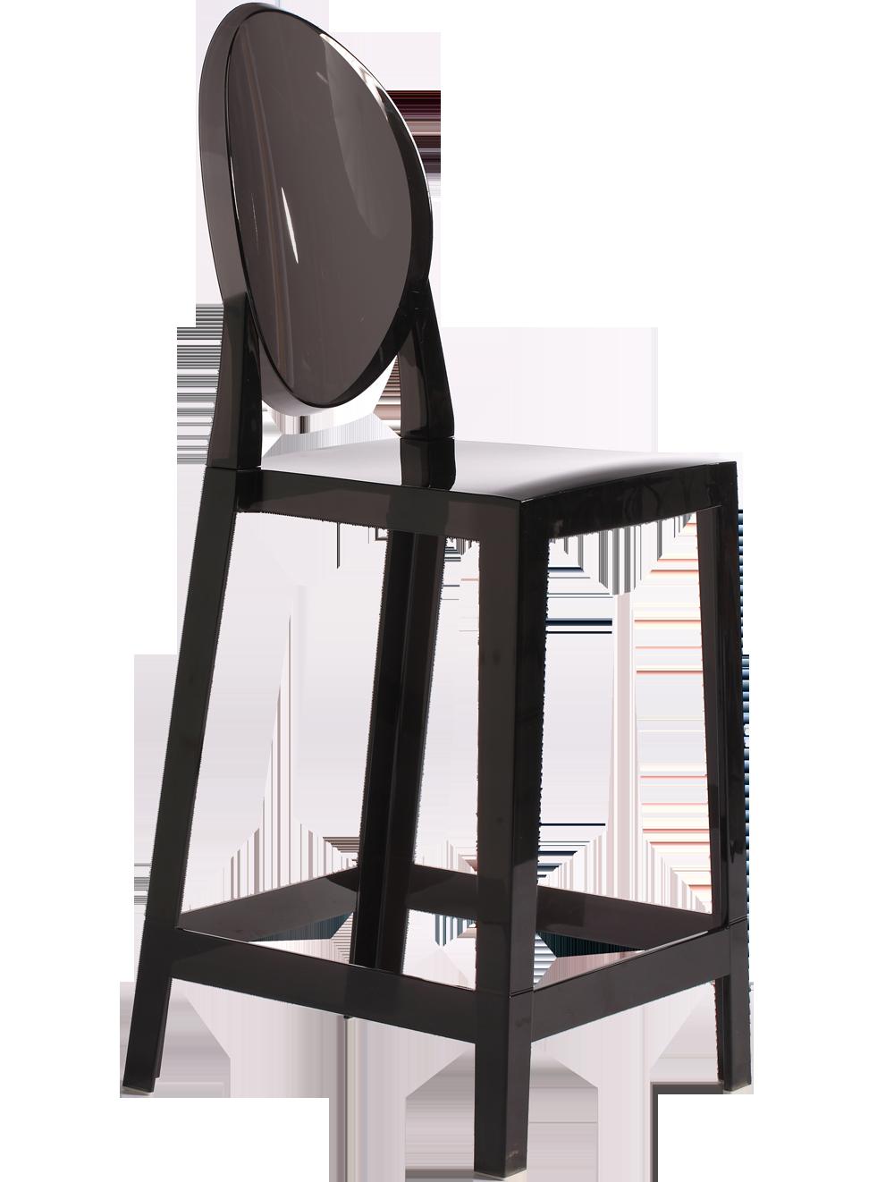 圆背高吧椅